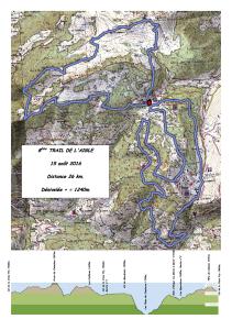 Trail de l'aigle 2016 (26 km)